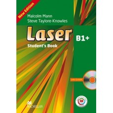 Laser (3rd) B1+ Student's Book + CD-ROM + Online