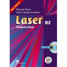 Laser (3rd) B2 Student's Book + CD-ROM + Online