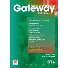 Gateway (2nd) B1+ Teacher's Book Premium Pack