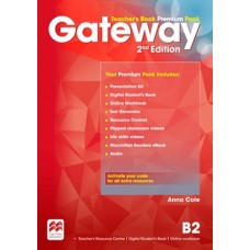 Gateway (2nd) B2 Teacher's Book Premium Pack