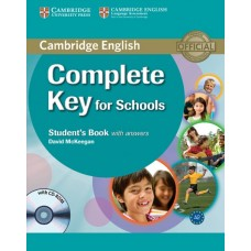 Complete Key for Schools Student's book with answers + CD-ROM