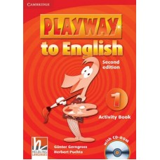 Playway to English Level 1 Activity Book + CD-ROM