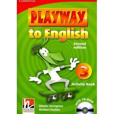 Playway to English Level 3 Activity Book + CD-ROM