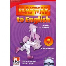 Playway to English Level 4 Activity Book + CD-ROM