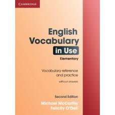 English Vocabulary in Use (2nd edition) Elementary without Answers