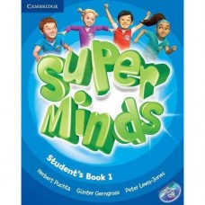 Super Minds Level 1 Student's Book + DVD-ROM