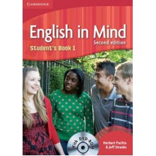 English in Mind (2nd Edition) Level 1 Student's Book + DVD-ROM