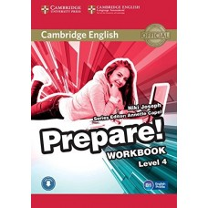 Prepare! Level 4 Workbook + Audio