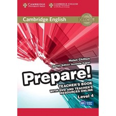 Prepare! Level 4 Teacher's Book + DVD + Teacher's Resources Online