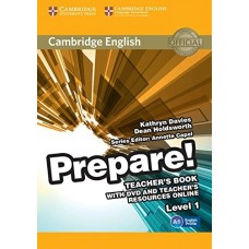 Prepare! Level 1 Teacher's Book + DVD + Teacher's Resources Online