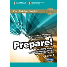 Prepare! Level 2 Teacher's Book + DVD + Teacher's Resources Online