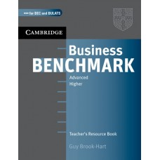 Business Benchmark Advanced BEC and BULATS Teacher's Resource Book