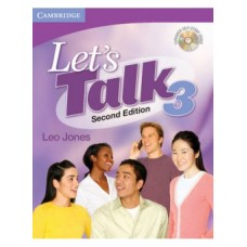Let's Talk (2nd) 3 Student's Book + Self Study Audio CD
