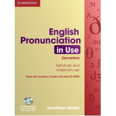 English Pronunciation in Use Elementary with answers + Audio CDs + CD-ROM