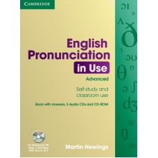English Pronunciation in Use Advanced with answers + Audio CDs + CD-ROM