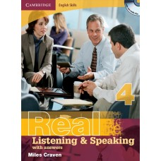 Cambridge English Skills Real Listening and Speaking 4 with Answers + Audio CD