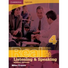 Cambridge English Skills Real Listening and Speaking 4 without Answers