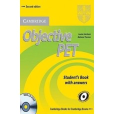 Objective PET (2nd) Student's Book with Answers + CD-ROM
