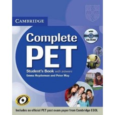 Complete PET Student's Book Pack (Student's Book with answers + CD-ROM + Audio CDs)