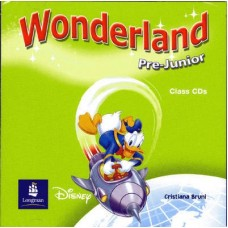 Wonderland Pre-Junior Audio CD