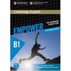 Cambridge English Empower Pre-Intermediate Student's Book + Online Assessment and Practice + Online Workbook