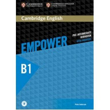 Cambridge English Empower Pre-Intermediate Workbook with Answers + Online Audio