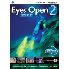 Eyes Open Level 2 Student's Book + Online Workbook + Online Practice