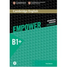 Cambridge English Empower Intermediate Workbook with Answers + Online Audio