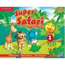 Super Safari Level 1 Pupil's Book + DVD-ROM