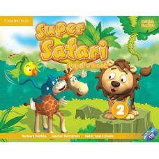 Super Safari Level 2 Pupil's Book + DVD-ROM