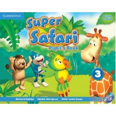 Super Safari Level 3 Pupil's Book + DVD-ROM