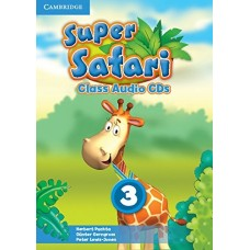 Super Safari Level 3 Class Audio CDs