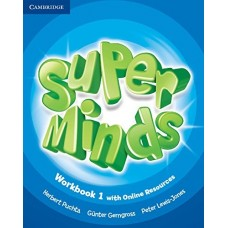 Super Minds Level 1 Workbook + Online Resources