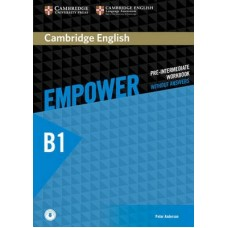 Cambridge English Empower Pre-Intermediate Workbook without Answers + Online Audio