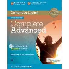Complete Advanced (2nd) Student's Book without Answers + CD-ROM + Testbank