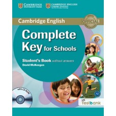 Complete Key for Schools Student's book without Answers + CD-ROM + Testbank