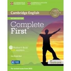 Complete First (2nd) Student's Book with Answers + CD-ROM + Testbank