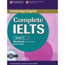 Complete IELTS Bands 4-5 Workbook with Answers + Audio CD