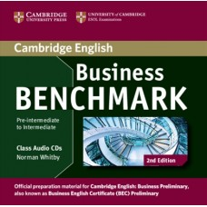 Business Benchmark (2nd) Pre-intermediate to Intermediate Business Preliminary Class Audio CDs