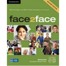 face2face (2nd edition) Advanced Student's Book + DVD-ROM + Online Workbook
