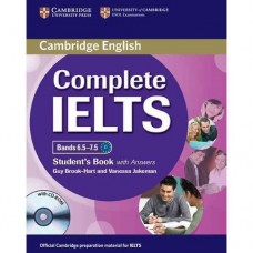 Complete IELTS Bands 6.5-7.5 Student's Book with Answers + CD-ROM