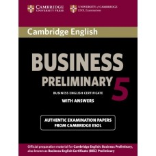 Cambridge English Business 5 Preliminary Student's Book with Answers