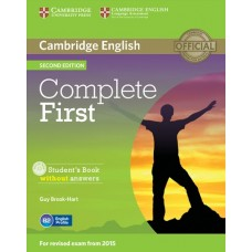 Complete First (2nd) Student's Book without Answers + CD-ROM