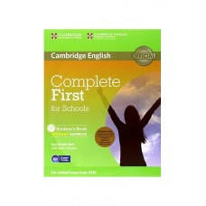 Complete First for Schools Student's Pack (Student's Book without answers + CD-ROM, Workbook without answers + Audio CD)