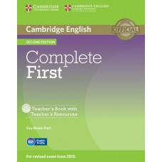 Complete First (2nd) Teacher's Book + Teacher's Resources CD-ROM