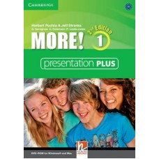 More! (2nd edition) Level 1 Presentation Plus DVD-ROM