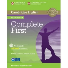 Complete First (2nd) Workbook without Answers + Audio CD