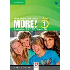 More! (2nd edition) Level 1 Testbuilder CD-ROM + Audio CD