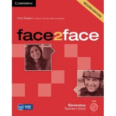 face2face (2nd edition) Elementary Teacher's Book + DVD