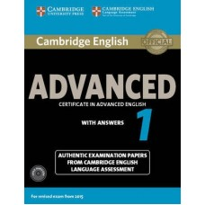Cambridge English Advanced 1 for Revised Exam from 2015 Student's Book Pack (Student's Book with Answers and Audio CDs)